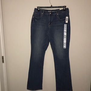 Women's Old Navy Curvy Boot Cut Jeans Size 12 Tall